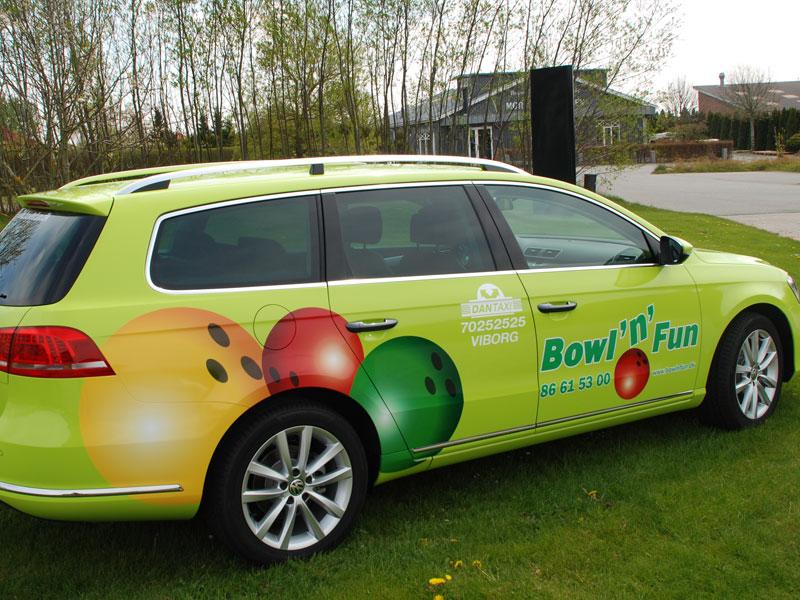 Bowl and fun bil